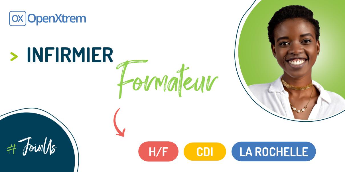 INFIRMIER FORMATEUR – H/F – La Rochelle