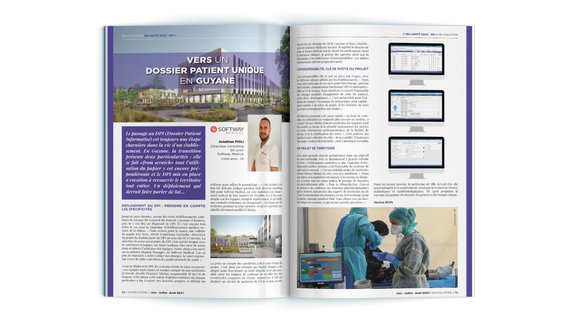 VERS UN DOSSIER PATIENT UNIQUE EN GUYANE : L'interview exclusive de notre Directeur consulting dans SIH Solutions