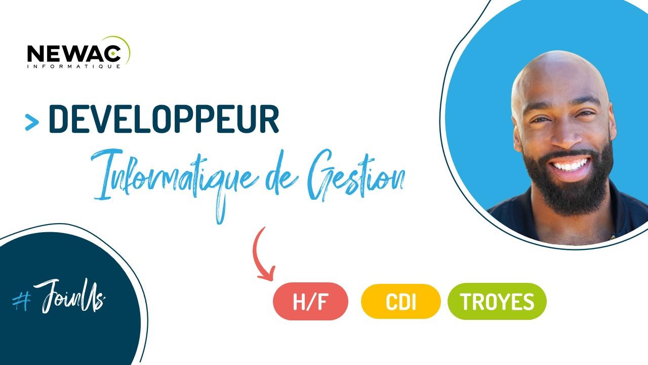 DEVELOPPEUR INFORMATIQUE DE GESTION – Windev/Webdev et BDD –  F/H – Troyes