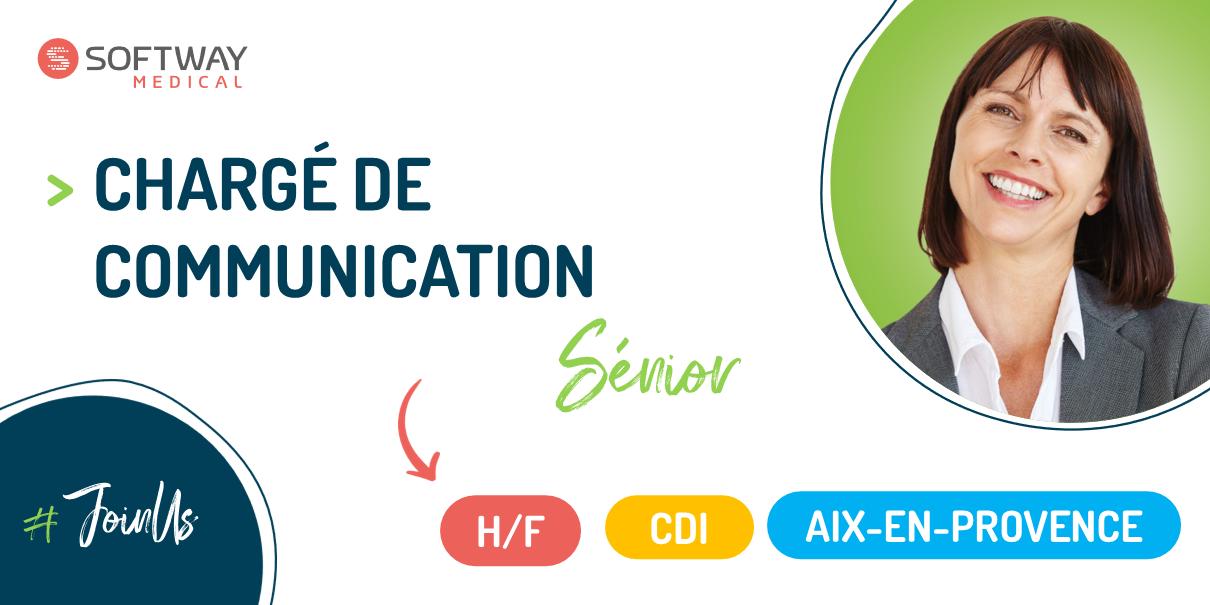 CHARGÉ DE COMMUNICATION SÉNIOR H/F