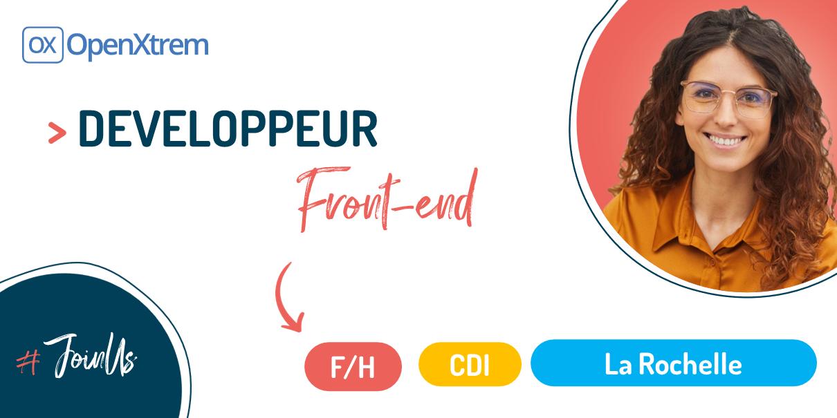 DEVELOPPEUR FRONT-END – F/H – La Rochelle