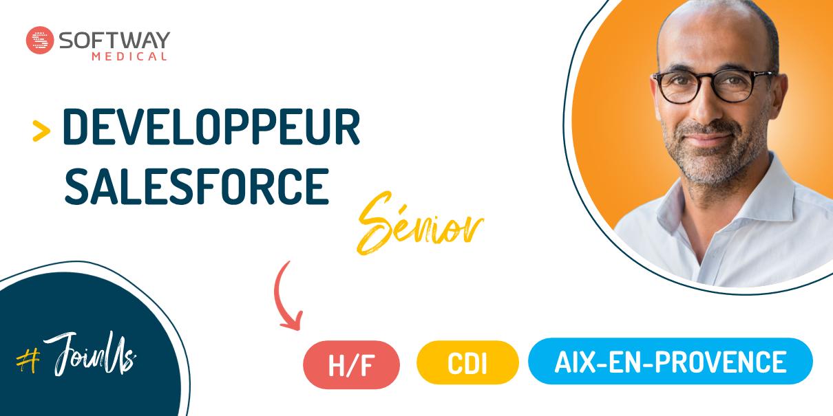 DEVELOPPEUR SALESFORCE SENIOR – H/F – Aix-En-Provence